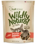 Fruitables Wildly Natural Cat Treat Wild Caught Salmon Flavor